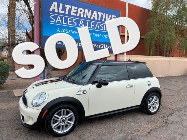 2012 Mini Hardtop S 6SP MANUAL 3 MONTH/3,000 MILE NATIONAL POWERTRAIN WARRANTY Mesa, Arizona