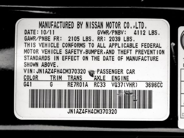 2012 Nissan 370Z Burbank, CA 24