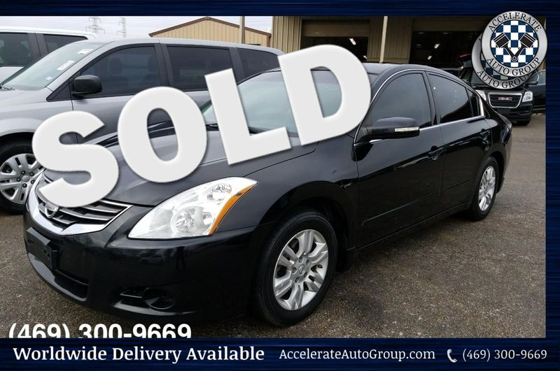 2012 Nissan Altima 2.5SL ONLY 62K Miles, Black on Black Leather, NICE! in Rowlett Texas
