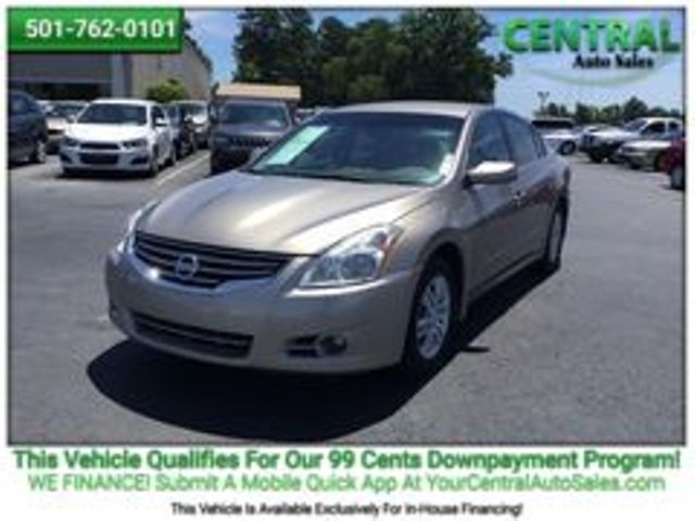 2012 Nissan ALTIMA    Hot Springs, AR   Central Auto Sales in Hot Springs AR