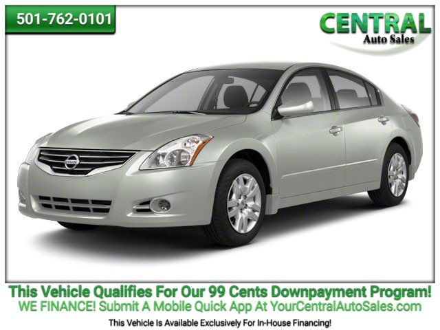 2012 Nissan Altima 2.5 S   Hot Springs, AR   Central Auto Sales in Hot Springs AR