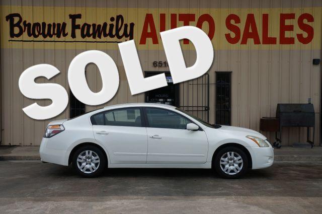 2012 Nissan ALTIMA BASE | Houston, TX | Brown Family Auto Sales in Houston TX