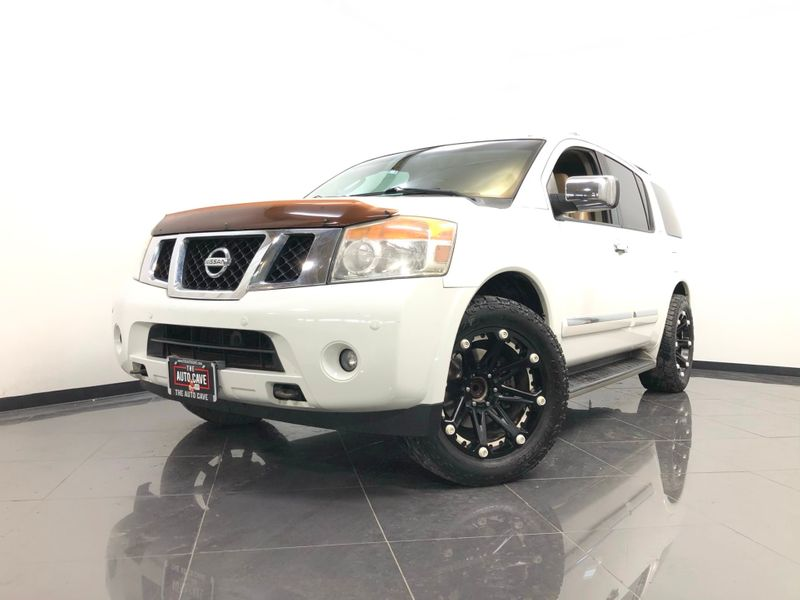 2012 Nissan Armada *2012 SPORT UTILITY 4-DR SV 2WD*5.6L V8* | The Auto Cave in Dallas