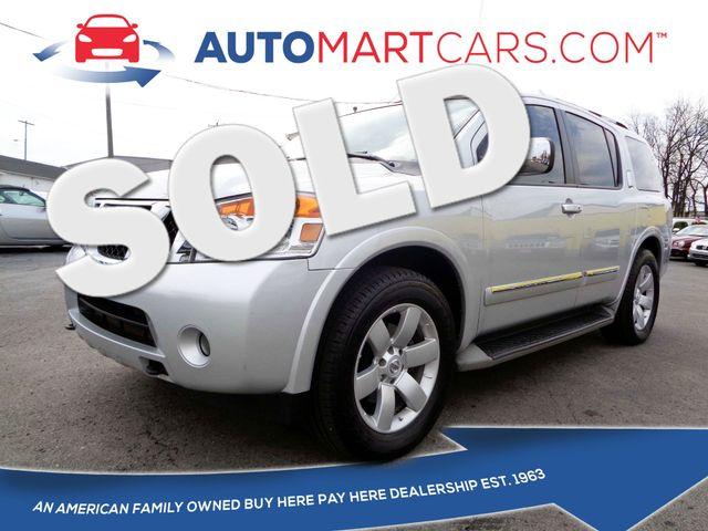 2012 Nissan Armada SL | Nashville, Tennessee | Auto Mart Used Cars Inc. in Nashville Tennessee