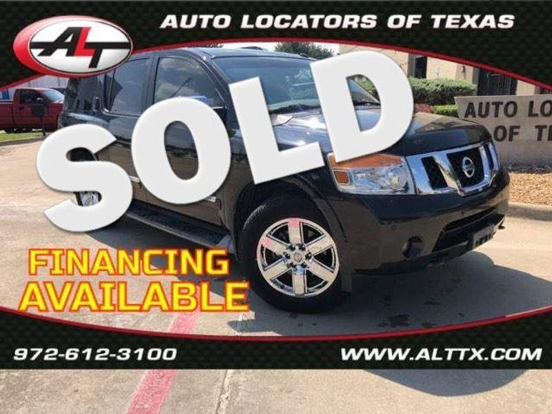 2012 Nissan Armada Platinum | Plano, TX | Consign My Vehicle in Plano TX