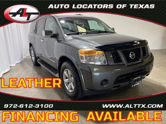 2012 Nissan Armada SV with LEATHER