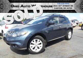 2012 Nissan Murano SL AWD Navigation Roof Clean Carfax V6 We Finance | Canton, Ohio | Ohio Auto Warehouse LLC in Canton Ohio