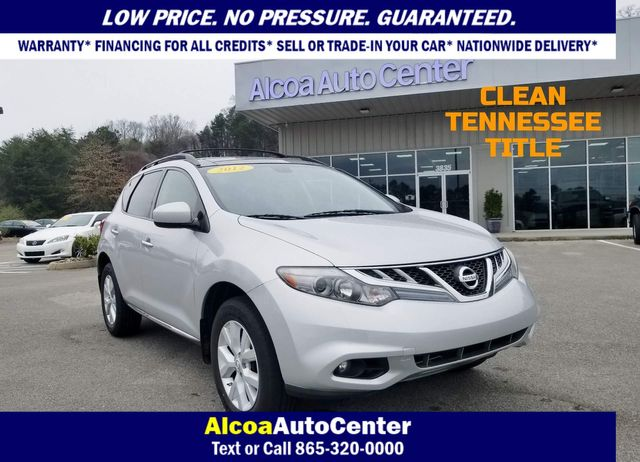 2012 Nissan Murano AWD SL in Louisville, TN 37777