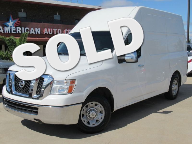 2012 Nissan NV2500HD SV w/ High Roof | Houston, TX | American Auto Centers in Houston TX