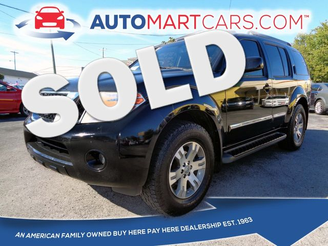 2012 Nissan Pathfinder Silver Edition | Nashville, Tennessee | Auto Mart Used Cars Inc. in Nashville Tennessee