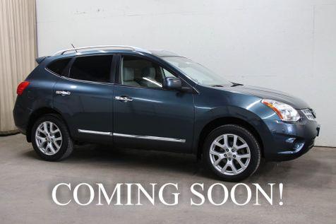 2012 Nissan Rogue SL AWD Crossover w/Navigation, 360º Around View Camera, Heated Seats, BOSE Audio & 18