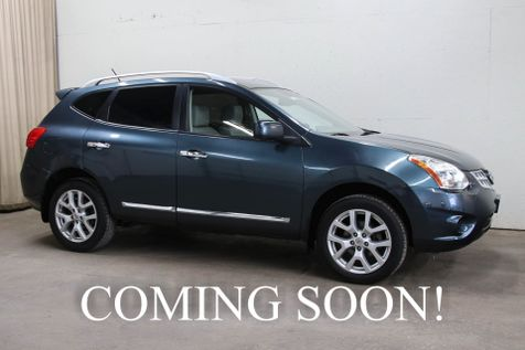 2012 Nissan Rogue SL AWD Crossover w/Navigation, 360º Around View Camera, Heated Seats, BOSE Audio & 18