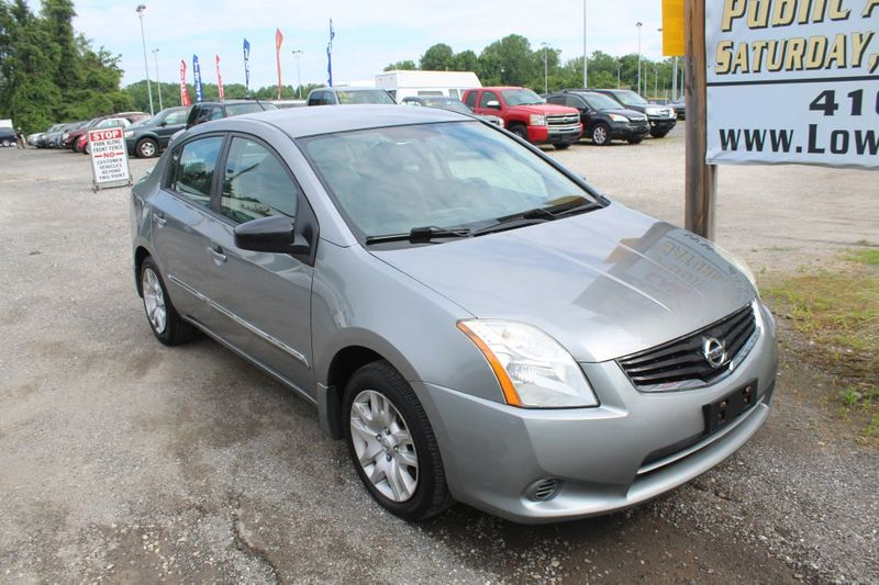 2012 Nissan Sentra 20 S  city MD  South County Public Auto Auction  in Harwood, MD