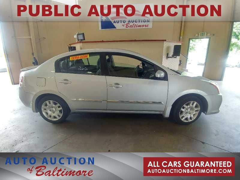 2012 Nissan Sentra 2 0 S Joppa Md Auto Auction Of Baltimore