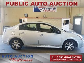 2012 Nissan Sentra 2.0 SR   JOPPA, MD   Auto Auction of Baltimore  in Joppa MD
