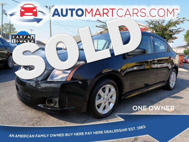 2012 Nissan Sentra 2.0 SR | Nashville, Tennessee | Auto Mart Used Cars Inc. in Nashville Tennessee