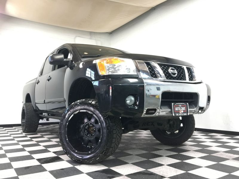 2012 Nissan Titan *S Crew Cab 4WD*5.6L V8* | The Auto Cave in Addison