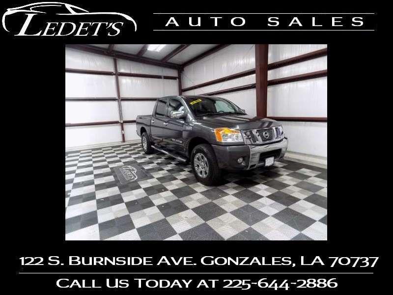 2012 Nissan Titan SV - Ledet's Auto Sales Gonzales_state_zip in Gonzales Louisiana