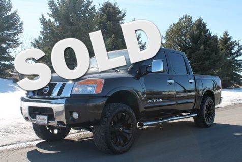 2012 Nissan Titan SL Crew Cab 4WD in Great Falls, MT