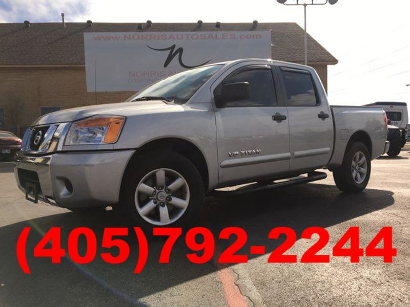 2012 Nissan Titan SV  Located AT OUR I40 LOCATION 405-917-7433   Oklahoma City, OK   Norris Auto Sales (NW 39th) in Oklahoma City OK