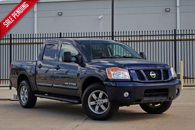 2012 Nissan Titan PRO-4X   Plano, TX   Carrick's Autos in Plano TX