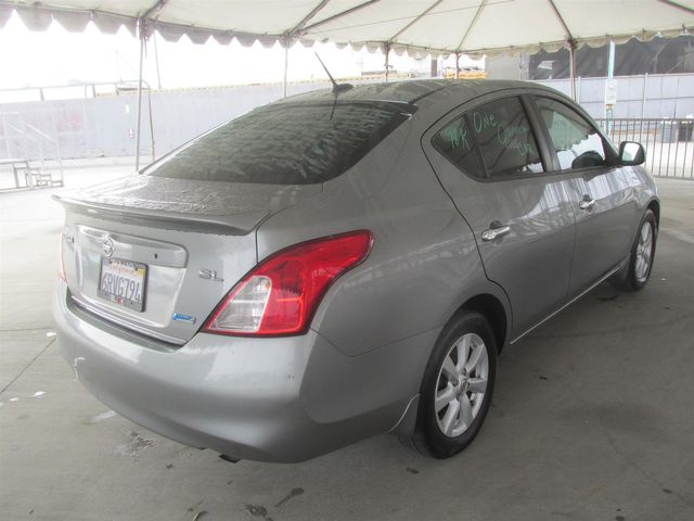2012 Nissan Versa SL Gardena, California 2