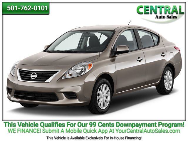 2012 Nissan Versa S | Hot Springs, AR | Central Auto Sales in Hot Springs AR