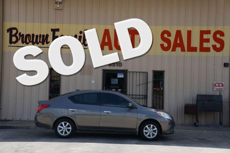 2012 Nissan Versa SL   Houston, TX   Brown Family Auto Sales in Houston TX