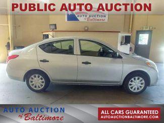 2012 Nissan Versa S   JOPPA, MD   Auto Auction of Baltimore  in Joppa MD