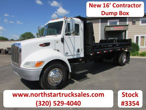2012 Peterbilt 330 PX-4 Paccar Motor New 16' Contractor Dump  in St Cloud, MN