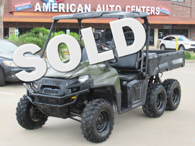 2012 Polaris Ranger 6x6  | Houston, TX | American Auto Centers in Houston TX
