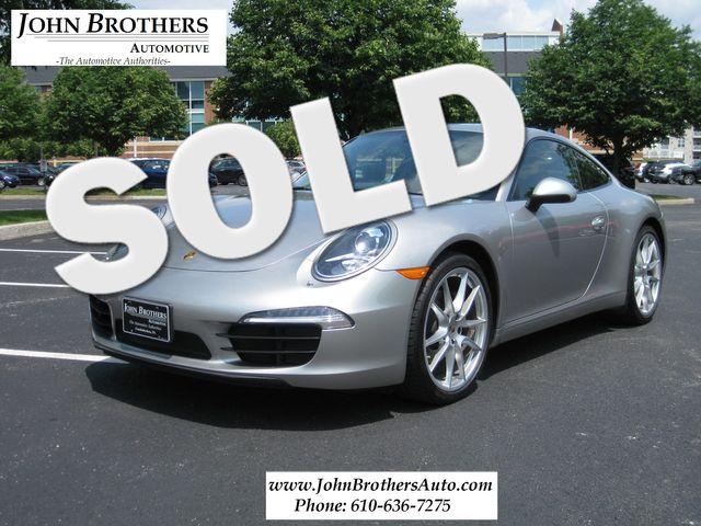 2012 Sold Porsche 911 991 Carrera Conshohocken, Pennsylvania