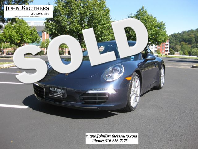 2012 Sold Porsche 911 991 Carrera S Conshohocken, Pennsylvania