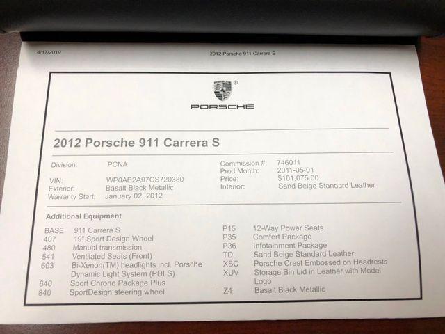 2012 Porsche 911 997 Carrera S Longwood, FL 41