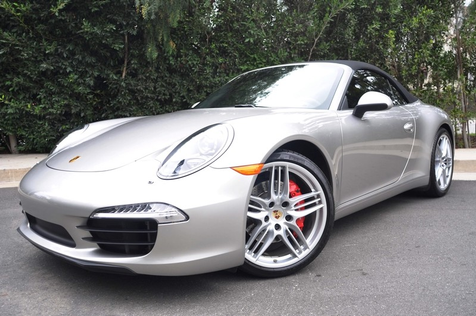 2012 Porsche 911 Carrera S Convertible, As New Condition, California Car, Factory Warranty in , California