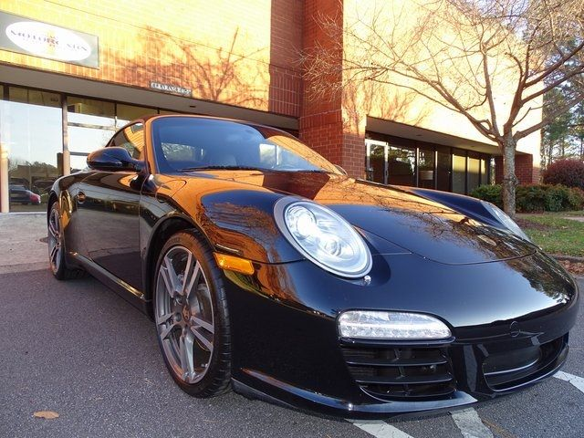 2012 Porsche 911 Carrera Black Edition