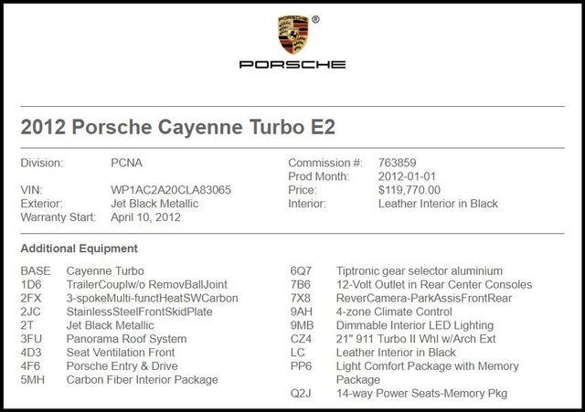 2012 Porsche Cayenne in Carrollton TX