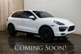 """2012 Porsche Cayenne Turbo AWD Executive SUV w/Blacked Out 21"""" Wheels, Heated/Cooled Seats & Burmester Audio in Eau Claire, Wisconsin 54703"""