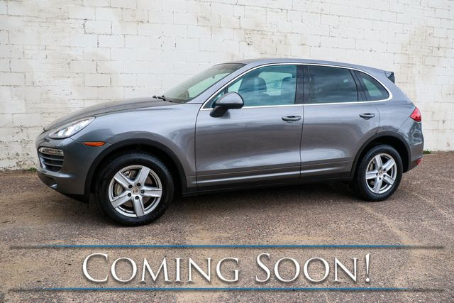 2012 Porsche Cayenne S AWD V8 Sport Utility w/Nav, Heated/Vented Seats, Panoramic Roof & BOSE Audio