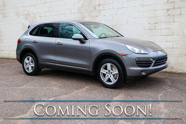 2012 Porsche Cayenne S AWD V8 Sport Utility w/Nav, Heated/Vented Seats, Panoramic Roof & BOSE Audio in Eau Claire, Wisconsin 54703