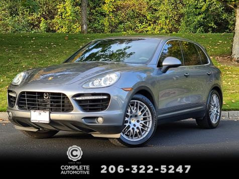 2012 Porsche Cayenne Turbo All Wheel Drive  500HP Local History Save Over $96,227 From New! in Seattle