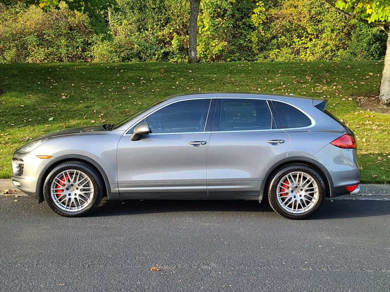2012 Porsche Cayenne Turbo All Wheel Drive  500HP Local History Save Over 96227 From New  city Washington  Complete Automotive  in Seattle, Washington