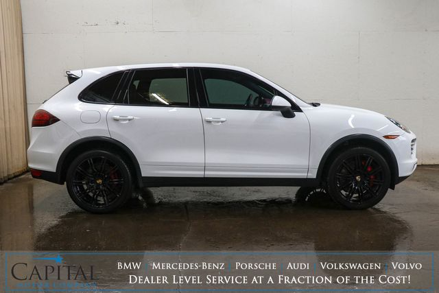"2012 Porsche Cayenne Turbo AWD Executive SUV w/Blacked Out 21"" Wheels, Heated/Cooled Seats & Burmester Audio in Eau Claire, Wisconsin 54703"