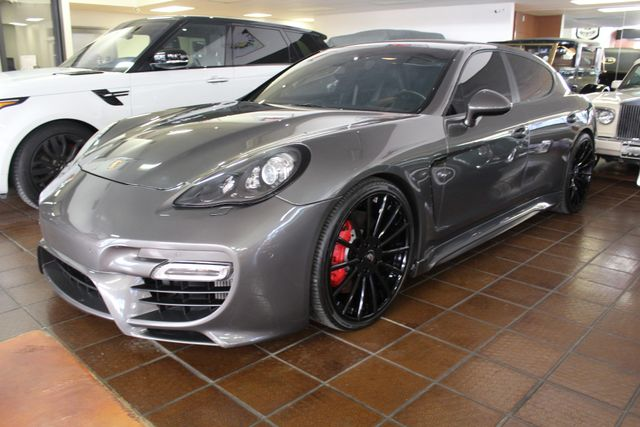 2012 Porsche Panamera  Turbo S $$$ Invested La Jolla, California 57