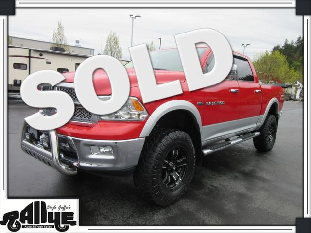 2012 Ram 1500 Laramie C/Cab 4WD in Burlington, WA 98233