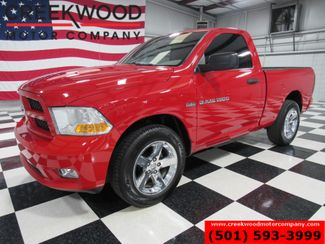 2012 Ram 1500 Dodge Express 4x4 Red Hemi Regular Cab Chrome 20s CLEAN in Searcy, AR 72143