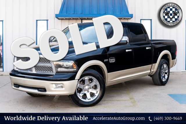2012 Ram 1500 LARAMIE LONGHORN HEMI V8 LOADED NAV LEATHER NICE!! in Rowlett