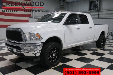 2012 Ram 2500 Dodge Big Horn SLT 4x4 Diesel Mega Cab White Deleted 20s in Searcy, AR