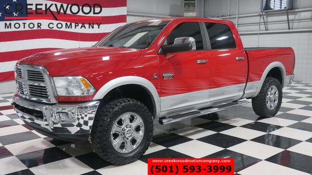 2012 Ram 2500 Dodge Laramie 4x4 Diesel Red New Tires Nav Leather CLEAN in Searcy, AR 72143