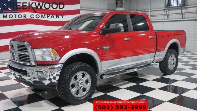 2012 Ram 2500 Dodge Laramie 4x4 Diesel Red New Tires Nav Leather CLEAN